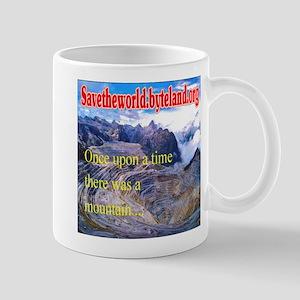 Save the World Gold Mine Mug