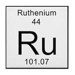 44. Ruthenium Tile Coaster