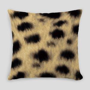 Cheetah Print Everyday Pillow