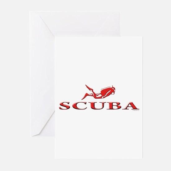SCUBA Dive Greeting Cards (Pk of 20)
