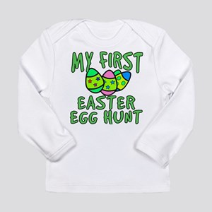 My 1st Easter Egg Hunt Long Sleeve Infant T-Shirt