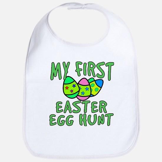 My 1st Easter Egg Hunt Bib