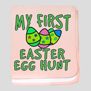 My 1st Easter Egg Hunt baby blanket