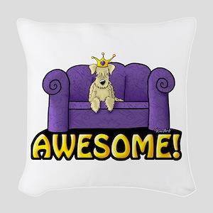 Wheatie Sofa King Woven Throw Pillow