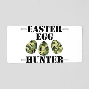 Easter Egg Hunter Aluminum License Plate