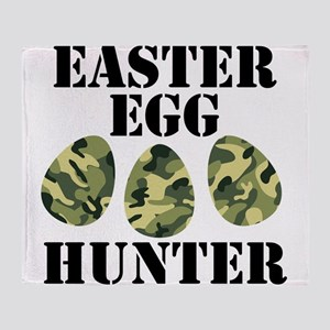 Easter Egg Hunter Throw Blanket