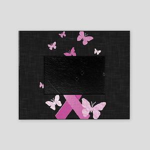 Pink Awareness Ribbon Picture Frame