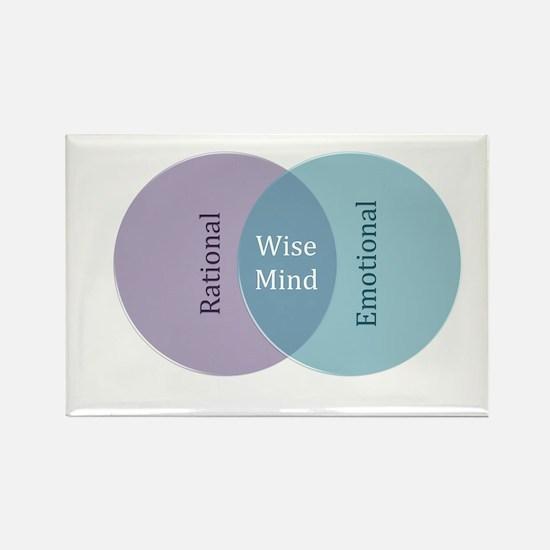 Unique Mind Rectangle Magnet (10 pack)