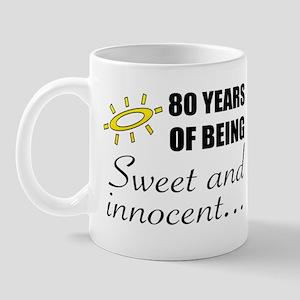 Cute 80th Birthday Humor Mug