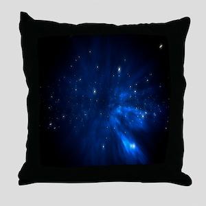 Blue Constalation Throw Pillow