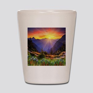 Country Sunrise Shot Glass