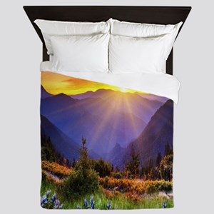 Country Sunrise Queen Duvet