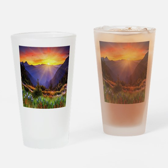 Country Sunrise Drinking Glass