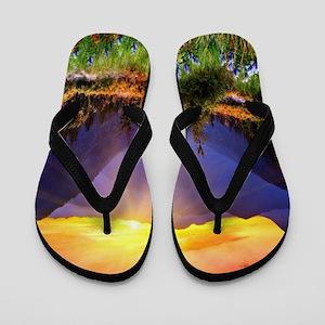 Country Sunrise Flip Flops
