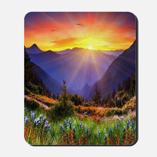 Country Sunrise Mousepad