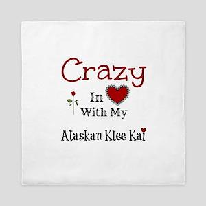 Alaskan Klee Kai Queen Duvet