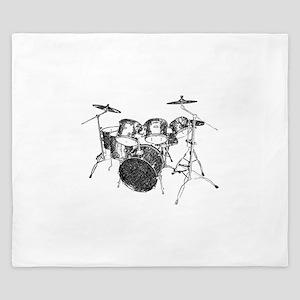 Drums King Duvet