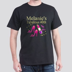 40 AND FABULOUS Dark T-Shirt