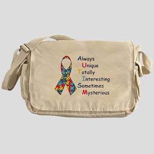 Autism Fact Messenger Bag