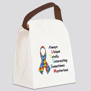 Autism Fact Canvas Lunch Bag