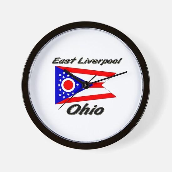 East Liverpool Ohio Wall Clock