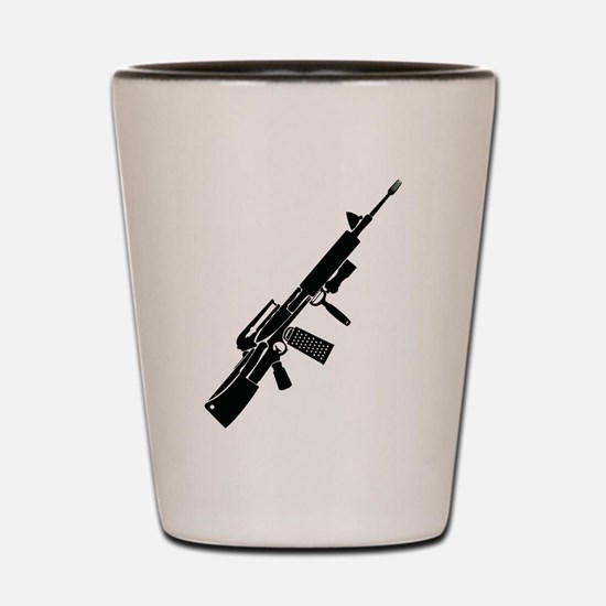 Cooking Weapon Shot Glass