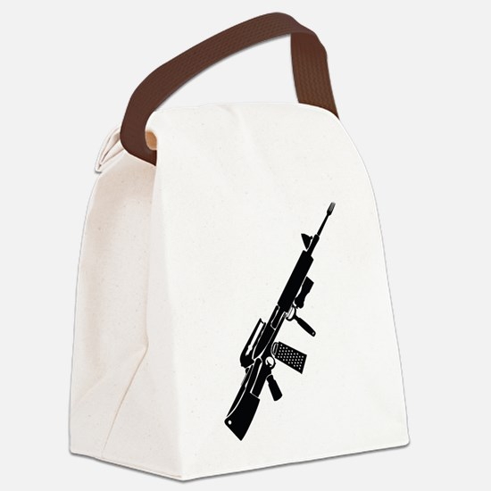 Cooking Weapon Canvas Lunch Bag