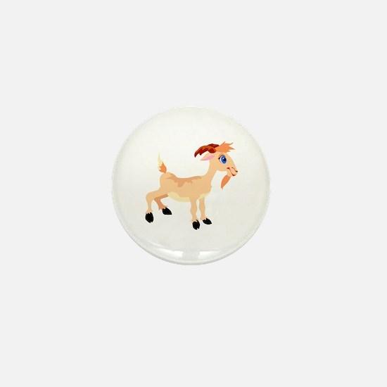 Billy Goat Mini Button