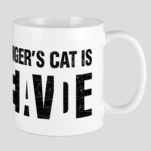 Schrodinger's cat is dead / alive. Mugs