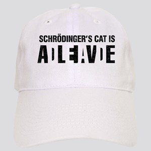 Schrodinger's cat is dead / alive. Baseball Cap