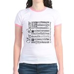 Vox Lucens #1 Jr. Ringer T-Shirt