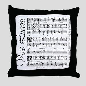 Vox Lucens #1 Throw Pillow