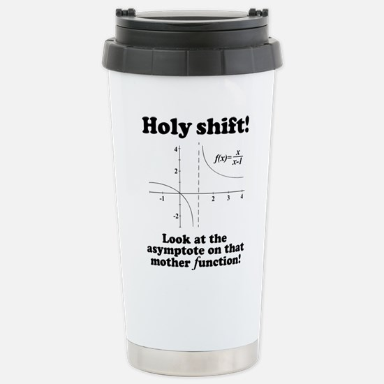 Holy Shift Math Functio Stainless Steel Travel Mug