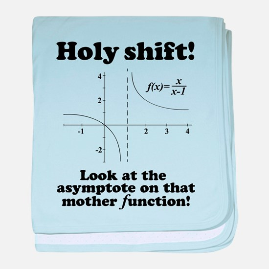 Holy Shift Math Function baby blanket
