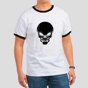Black Skull Design T-Shirt