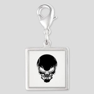 Black Skull Design Charms