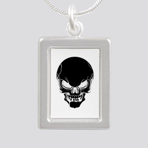 Black Skull Design Necklaces