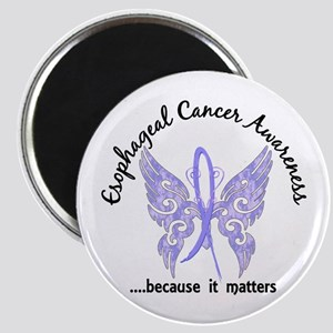 Esophageal Cancer Butterfly 6.1 Magnet