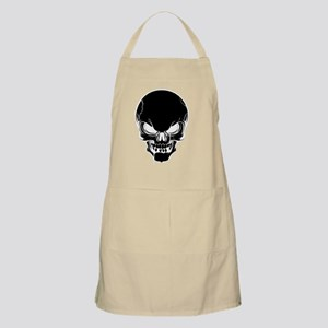 Black Skull Design Apron