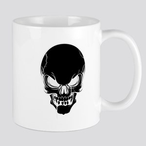 Black Skull Design Mugs