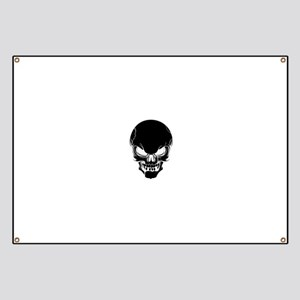 Black Skull Design Banner