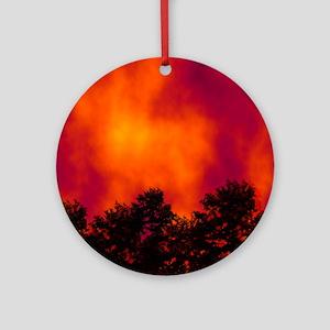Wildfire Ornament (Round)