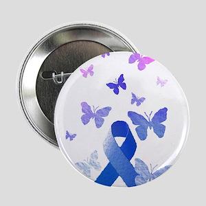 "Blue Awareness Ribbon 2.25"" Button (10 pack)"