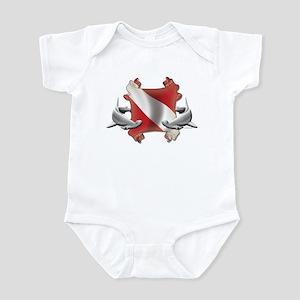 SCUBA Hammerheads Infant Bodysuit