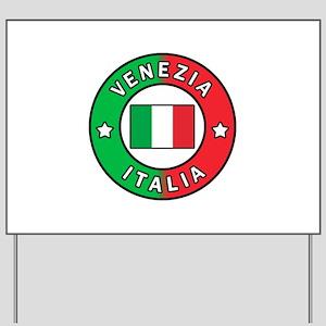 Venezia Italia Yard Sign