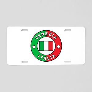 Venezia Italia Aluminum License Plate