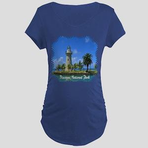 Biscayne National Park Dark Maternity T-Shirt