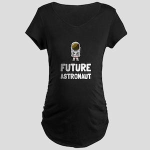 Future Astronaut Maternity T-Shirt