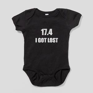 I Got Lost Baby Bodysuit