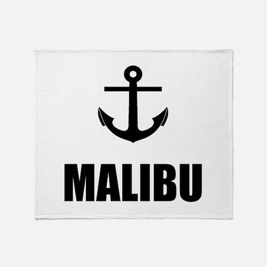Malibu Anchor Throw Blanket